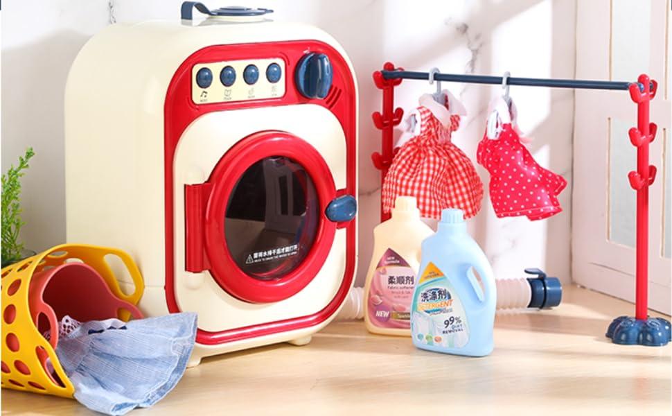 Mini washing machine toy