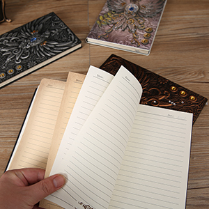 Klug Innenpapier, verschiedene Farben, Es liegt schön 180°flach offen und hält es auch