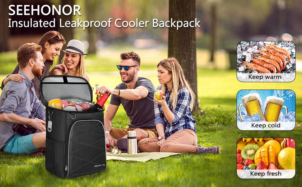 cooler bckpack lightweight insulated backpack cooler leakproof soft cooler bag large capacity men