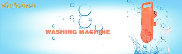 wash clothes machine portable