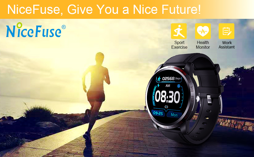 NiceFuse Fitness Tracker