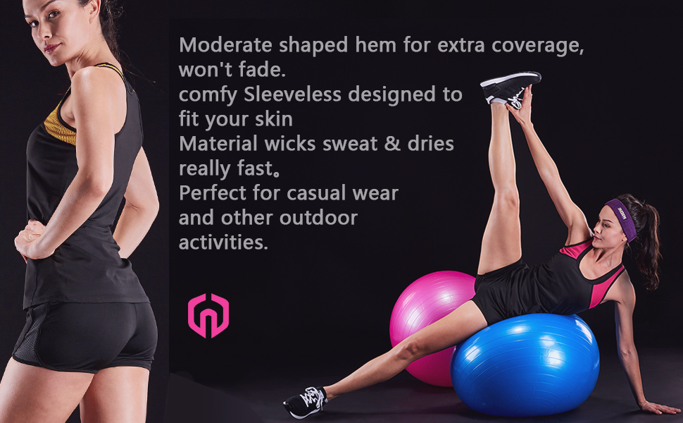 comfy Sleeveless designed to fit your skin