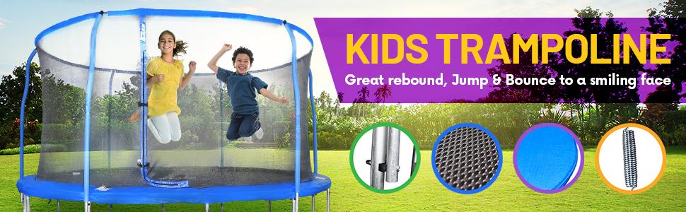 kid trampoline for kids outdoor trampoline safety net