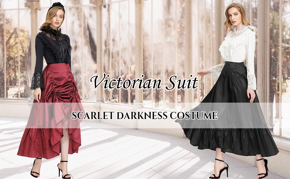 women steampunk skirt