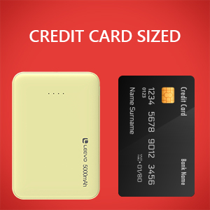 Credit card size
