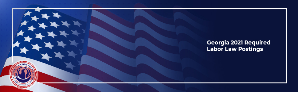 georgia 2021 labor law poster