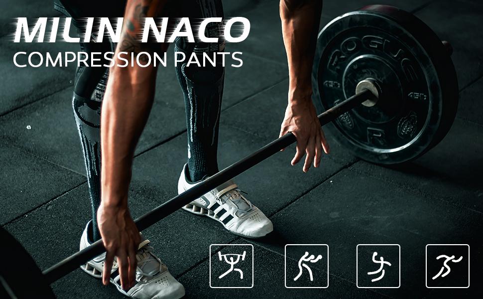 Men's UPF 50+ Compression Pants
