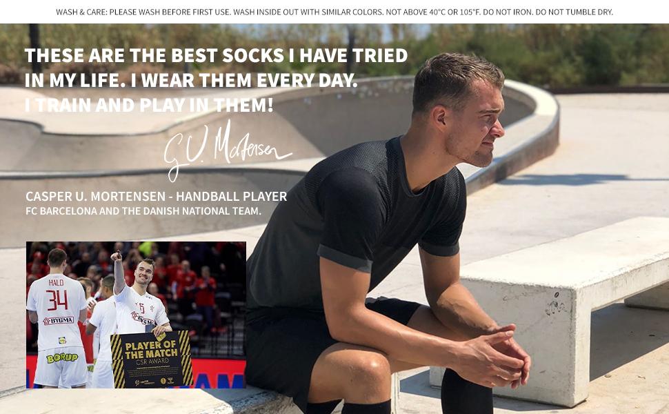 Casper Mortensen handball player