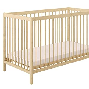 cuna Polini niños Fácil 101 naturaleza de la madera maciza de abedul, 3022