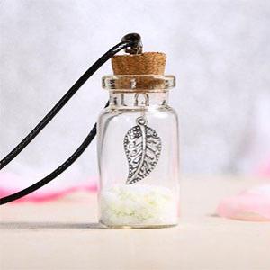 BENECREAT 10 Pack 55ml Botella de Vidrio Transparente con Corcho para Manuaildad de Artesanía Decoración de Boda y Fiesta 100x29.5mm