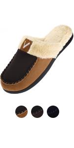 fleece moccasins