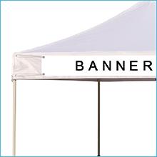 Ez pop up canopy banner