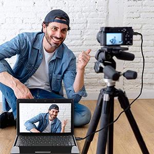 Caméra comme webcam
