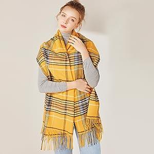 soft winter scarf