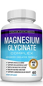 Magnesium Glycinate Toplux supplement
