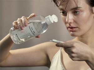 mizon mizon cleansing water micellar cleansing water one step cleansing water facial cleanser cleans