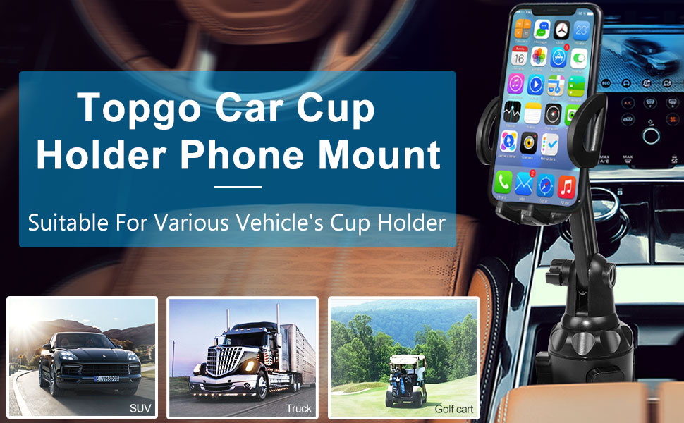 cup phone mount for car