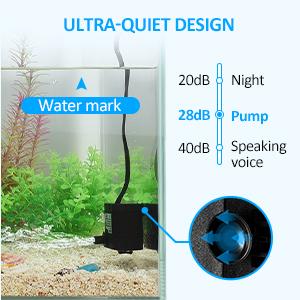 aquarium water pump