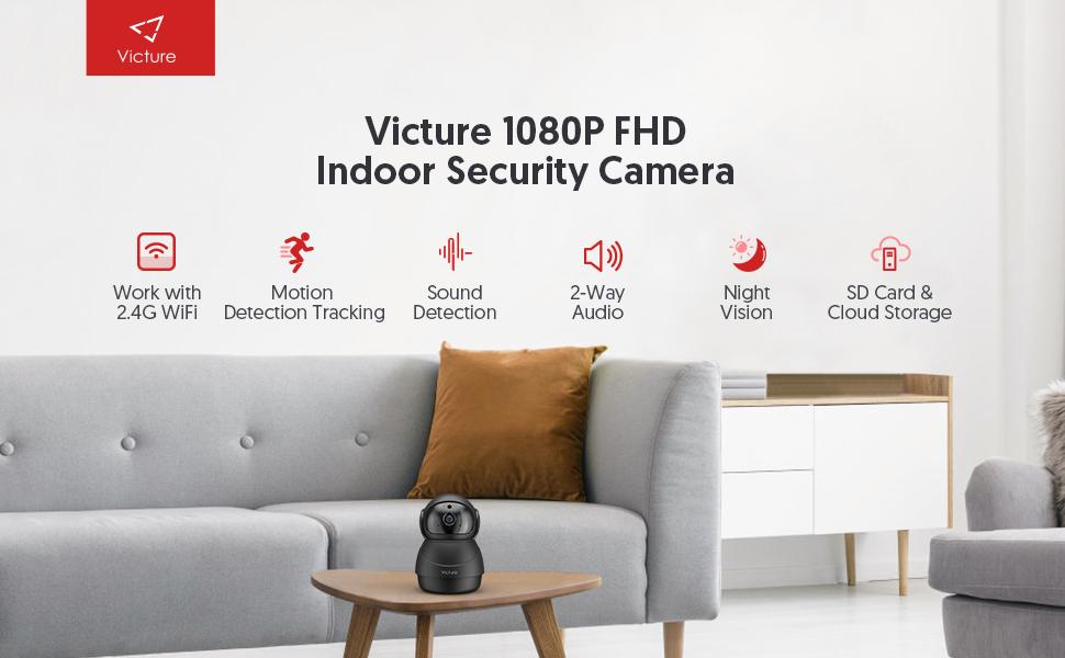 Flashandfocus.com 6c1bcb82-4fc6-4557-8341-bd0813eadcd4.__CR0,0,970,600_PT0_SX970_V1___ [2021 Upgraded] Victure 1080P Pet Camera, WiFi Camera, Indoor Security Camera for Pet, Baby, Elder, 2.4G Home Camera…