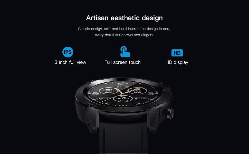 Google - The Luxury Stainless Steel Smartwatch