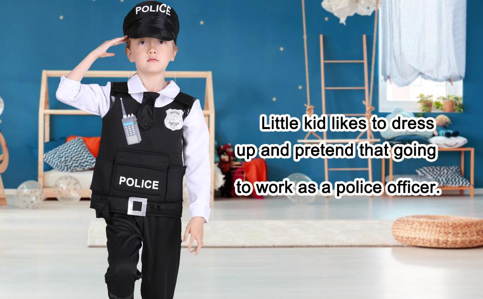 police costume set for kids