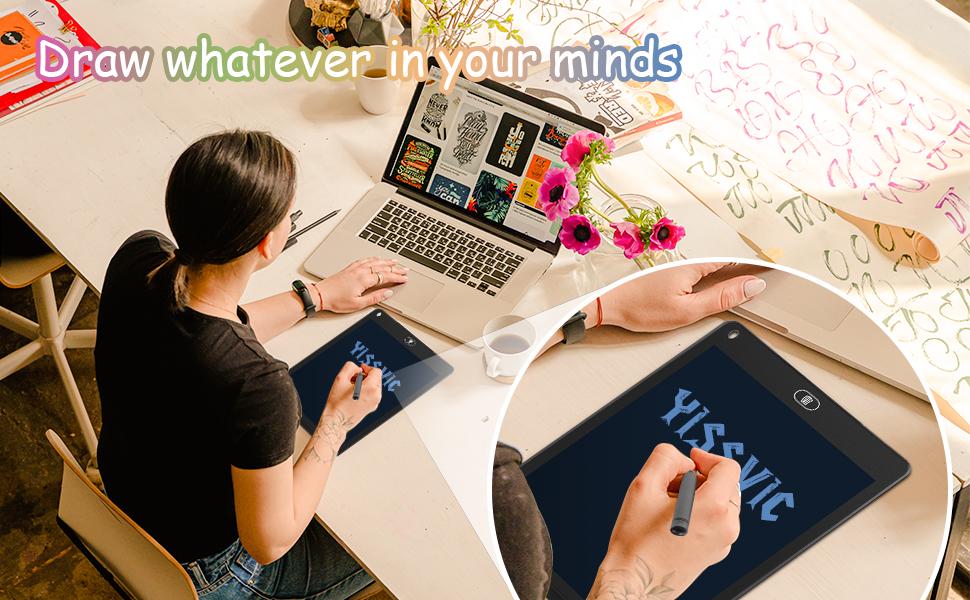 e writing tablet