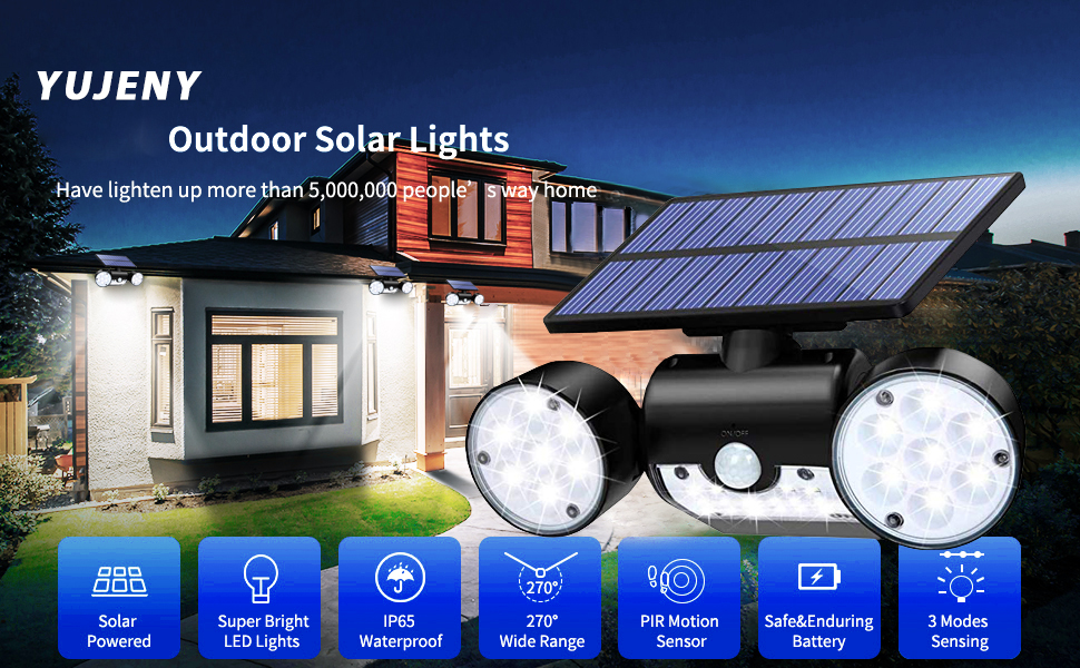 Solar Accent Lights New Energy Light Diomend Shape Wide Angle Design Motion Senser IP65 24LED Waterproof Night Outdoor Garden Yard Torch Deck Wall Fence Patio 1PACK