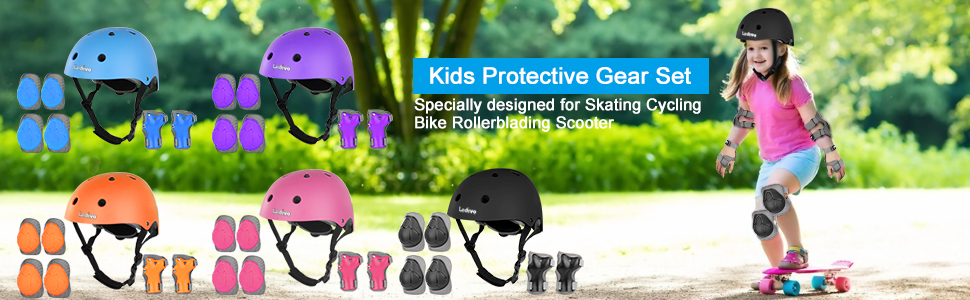 Kids Protective Gear Set
