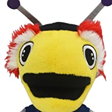 amazon com bleacher creatures tampa bay lightning thunderbug 10 plush figure a mascot for play or display toys games bleacher creatures tampa bay lightning thunderbug 10 plush figure a mascot for play or display
