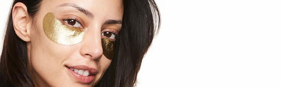 Wander Beauty Baggage Claim Eye Masks Gold