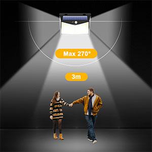 Luces Solares con Sensor de Movimiento