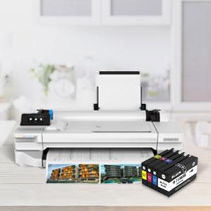 SMARTOMI 711XL 711 compatibles con HP 711 XL Cartucho de Tinta ...