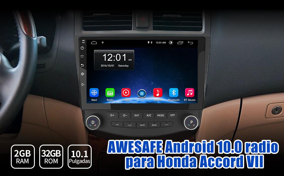 pantalla coche 2 din Honda Accord radio coche 2 din Honda Accord autoradio 2 din Honda Accord 7