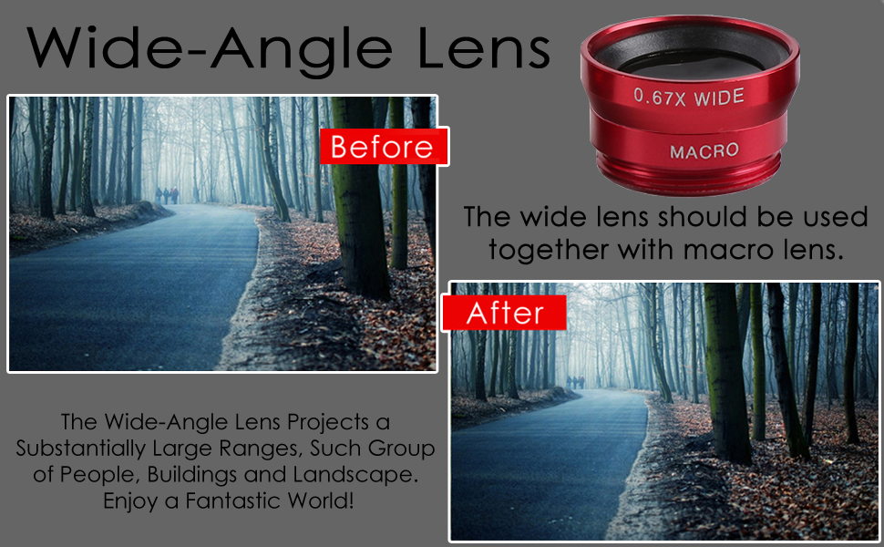 THE WIDE ANGLE LENS 4