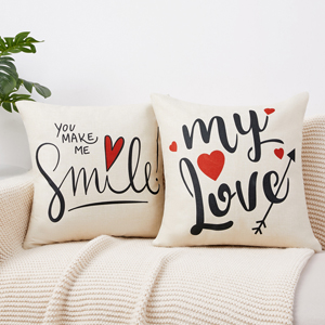 VALENTINES PILLOW COVERS