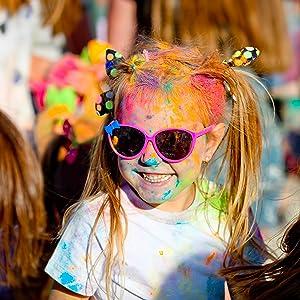color powder run fun summer color holi party kids