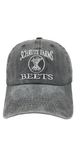 Men's amp; Women's Schrute Farms Beets Funny Baseball Cap