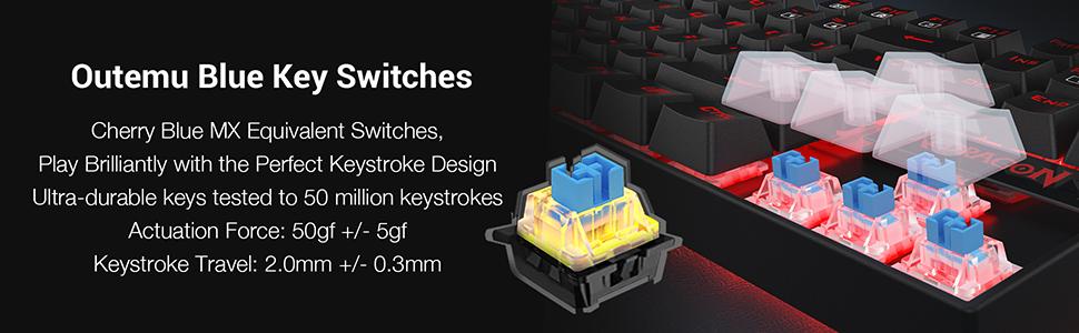 Mechanical Keyboard for Gaming