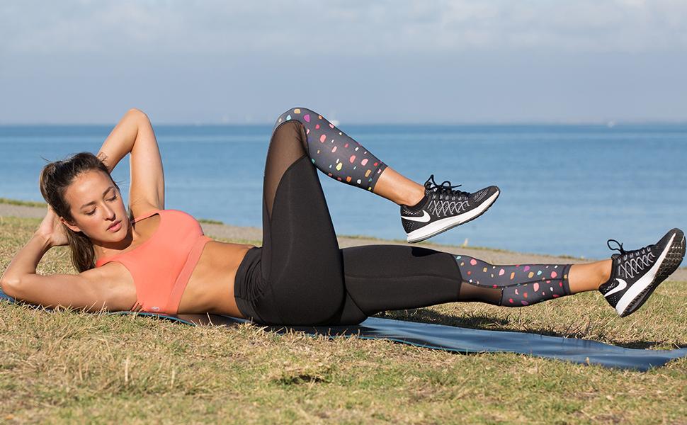 icyzone damen sport yoga bh bra