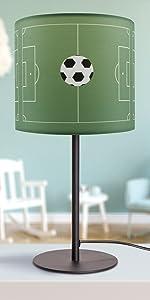 Lampe de table Football
