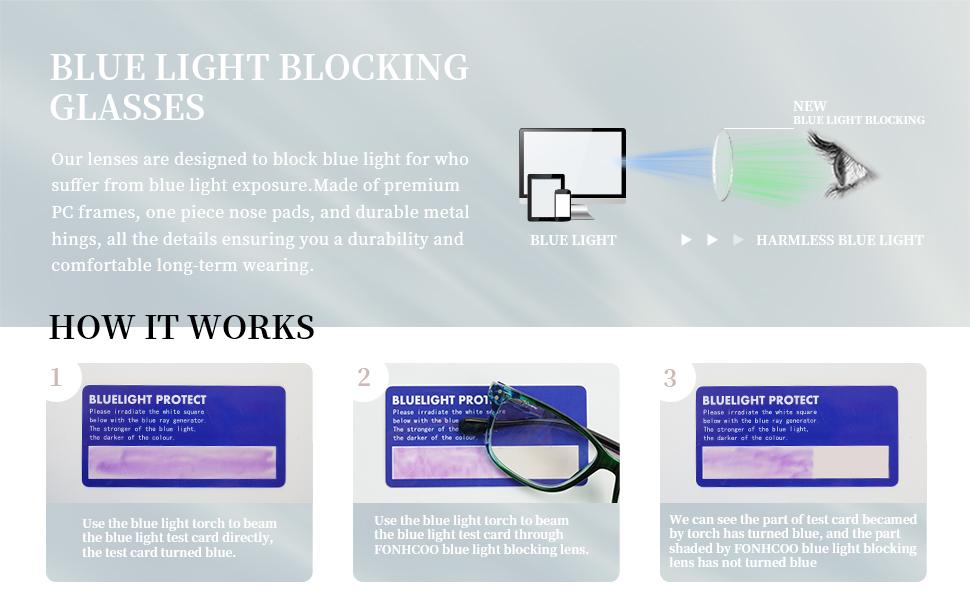 Reader Blue Light Blocking Glasses