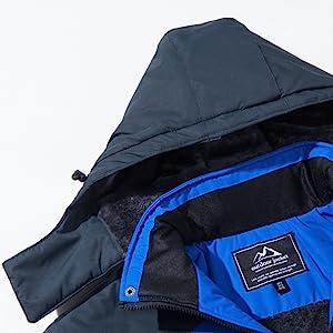 ski jacket men hooded waterproof jacket winter jackets for men