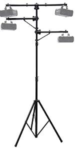 Harmony Audio Pro Audio DJ Lighting Multi Arm Tripod amp; T-Bar Light Stand