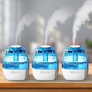air humidifier 3 mist levels