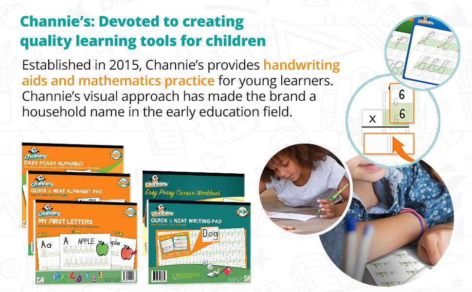 Channies: Devoted to creating quality learning tools for children.