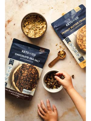 Keto and Co PB Granola in Hands