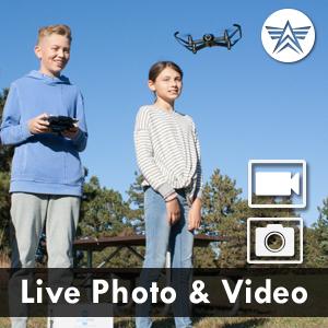 live video photo drone