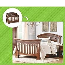 Chelmsford Crib in Coco