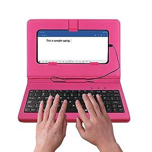 Keyboard Flip Case for Mobile