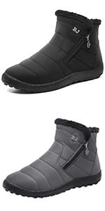 L-RUN Womens Snow Boots